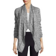 Liz Claiborne® Draped Knit Jacket
