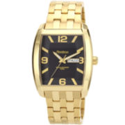 Armitron® Mens Gold-Plated Bracelet Watch