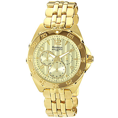 armitron gold watches best watchess 2017 armitron mens gold plated chronograph watch