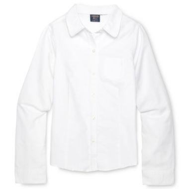 jcpenney.com | IZOD® Long-Sleeve Oxford Shirt - Girls 4-18