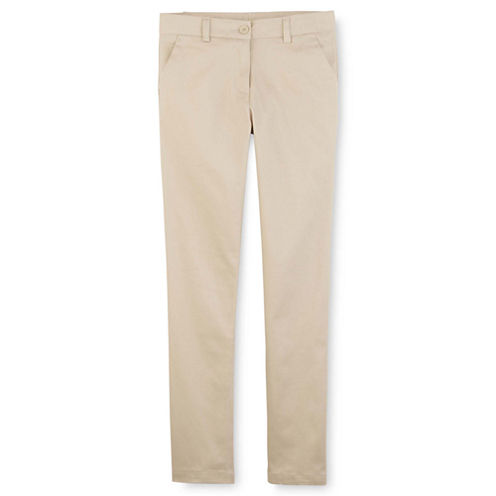 IZOD® Stretch Twill Skinny Pants - Preschool Girls 4-6x