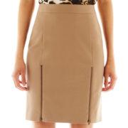 Worthington® Zipper-Trim Pencil Skirt