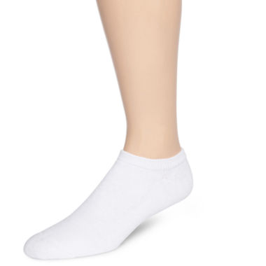 jcpenney.com | Hanes® Mens 6-pk. ComfortBlend® Full Cushion No-Show Socks