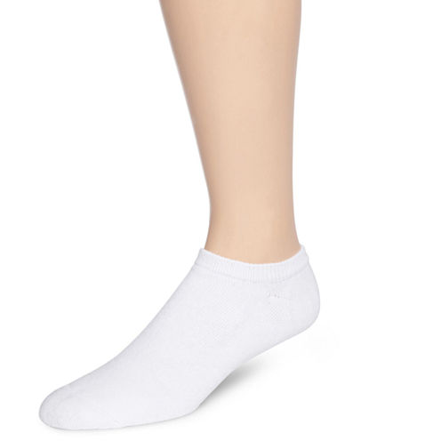 Hanes® Mens 6-pk. ComfortBlend® Full Cushion No-Show Socks