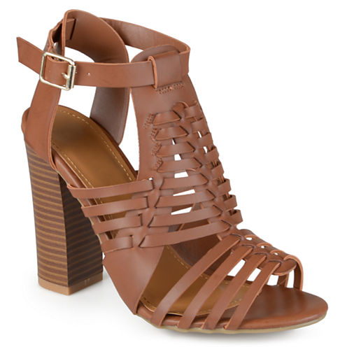 Journee Collection Romy Heeled Sandals
