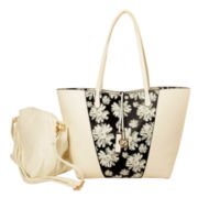 Imoshion Large Daisy Reversible Bag-in-a-Bag Tote