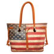 Imoshion American Flag Large Reversible Tote