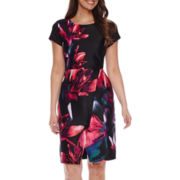 Worthington® Short-Sleeve Wrap Dress