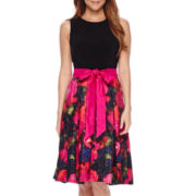 R&K Originals® Sleeveless Floral Party Dress