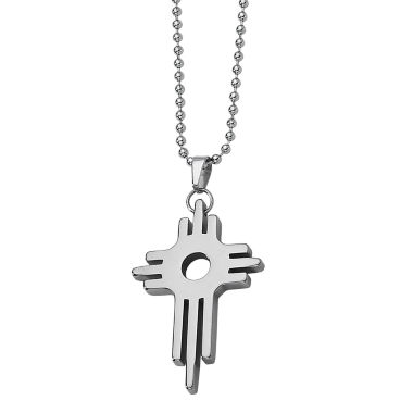 jcpenney.com | Mens Tungsten Carbide Cross Pendant