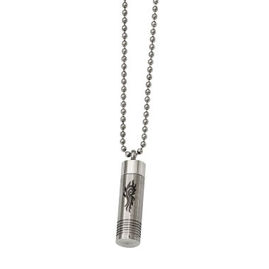 jcpenney.com | Mens Stainless Steel Capsule Pendant