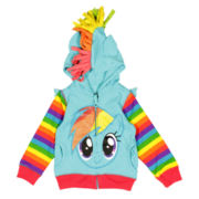 My Little Pony My Little Pony Knit Hoodie - Toddler 2T-5T