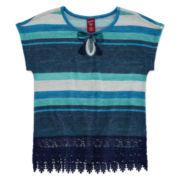 Arizona Short-Sleeve Pullover Tee - Girls 7-16