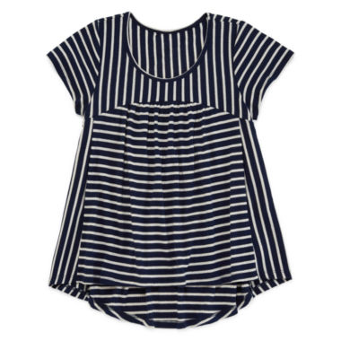jcpenney.com | Arizona Short-Sleeve Ribbed Tee - Girls 7-16 and Plus