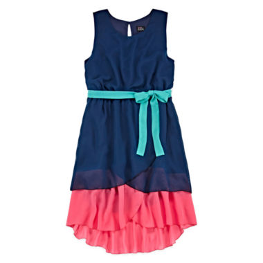 jcpenney.com | Lilt Sleeveless Hi-Lo Fit-and-Flare Dress - Girls