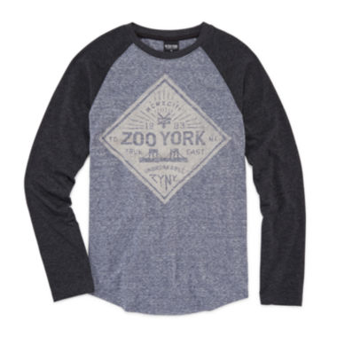 jcpenney.com | Zoo York® Long-Sleeve Graphic Raglan Tee - Boys 8-20