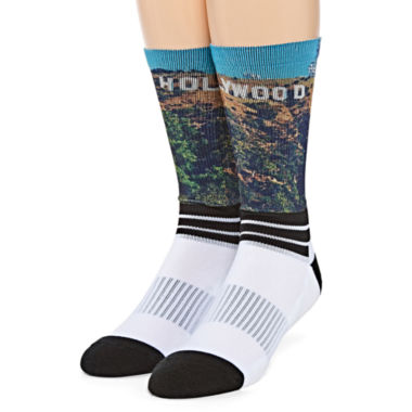 jcpenney.com |  Boom Sox® Sublimated Hollywood Crew Socks