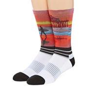 Boom Sox® Sublimated Huntington Beach Pier Crew Socks