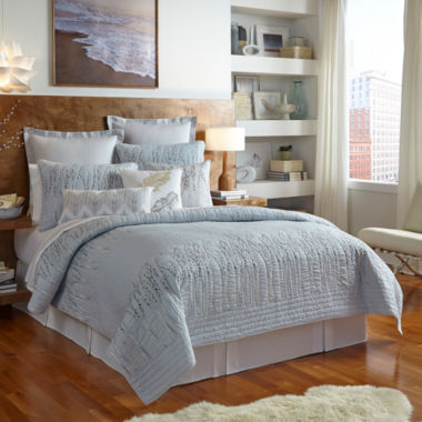 jcpenney.com | Shell Rummel Willow Quilt and Accessories