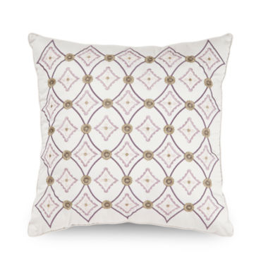jcpenney.com | Crawley Geo Embroidered Decorative Pillow
