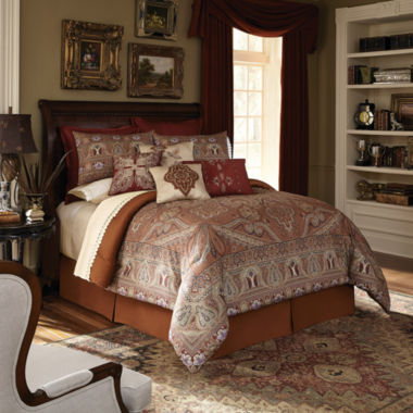 jcpenney.com | Downton Abbey Grantham 4-pc. Comforter Set
