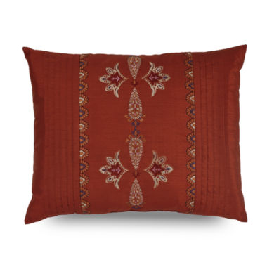 jcpenney.com | Downton Abbey Grantham Embroidered Pleated Decorative Pillow