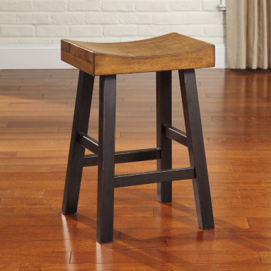 jcpenney.com | Signature Design by Ashley® Glosco Saddle Barstools