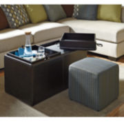 Signature Design by Ashley® Casheral Storage Ottoman