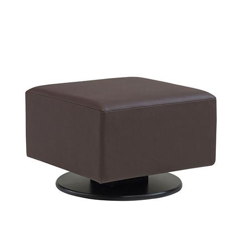 Dutailier® Dark Chocolate Stella Ottaman Glider Furniture