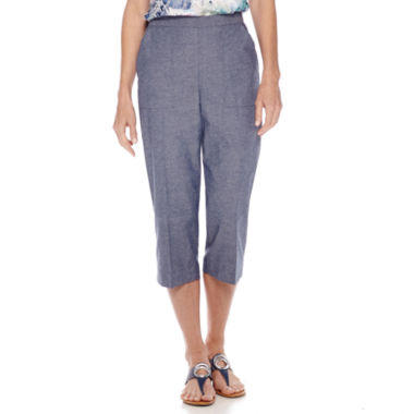 jcpenney.com | Alfred Dunner® St. Augustine Capris