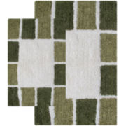 Chesapeake Merchandising Mosaic Tiles 2-pc. Bath Rug Set
