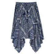 Arizona Handkerchief-Hem Maxi Skirt - Girls 7-16 and Plus