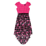 Disorderly Kids® High-Low Crochet Dress - Girls 7-16