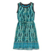 Disorderly Kids® Tribal-Print Dress - Girls 7-16