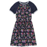 Disorderly Kids® Floral-Print Athletic Dress - Girls 7-16