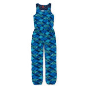 Arizona Lace Print Jumpsuit - Girls 7-16