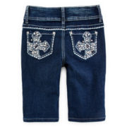 Revolution™ Rhinestone Bermuda Shorts - Girls 7-16