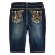 Revolution™ Embellished Bermuda Shorts - Girls 7-16