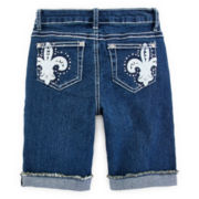 Revolution™ Embroidered Bermuda Shorts - Girls 7-16