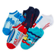 Despicable Me 5-pk. No-Show Socks - Boys