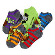 Teenage Mutant Ninja Turtles 5-pk. No-Show Socks - Boys