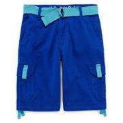 U.S. Polo Assn.® Belted Cargo Shorts - Boys 8-18