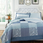 Kate Spain Horizon Reversible Pieced Quilt Set