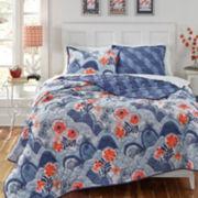 KD Spain Hills Reversible Quilt Set