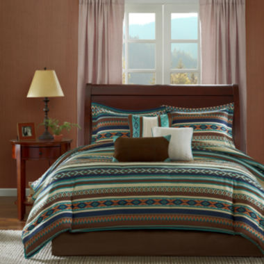 jcpenney.com | Madison Park Harley Southwest 7-pc. Comforter Set