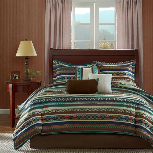 Madison Park Harley Southwest 7-pc. Comforter Set