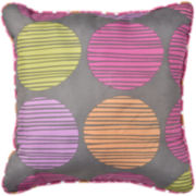 Gwen Square Reversible Decorative Pillow