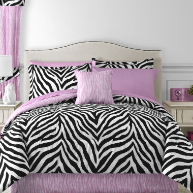 jcpenney.com | Sassy Zebra Complete Bedding Set with Sheets Collection