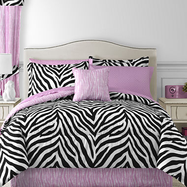 jcpenney com   Sassy Zebra Complete Bedding Set with Sheets. Sassy Zebra Complete Bedding Ensemble with Sheet Set
