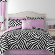 Sassy Zebra Complete Bedding Set with Sheets Collection